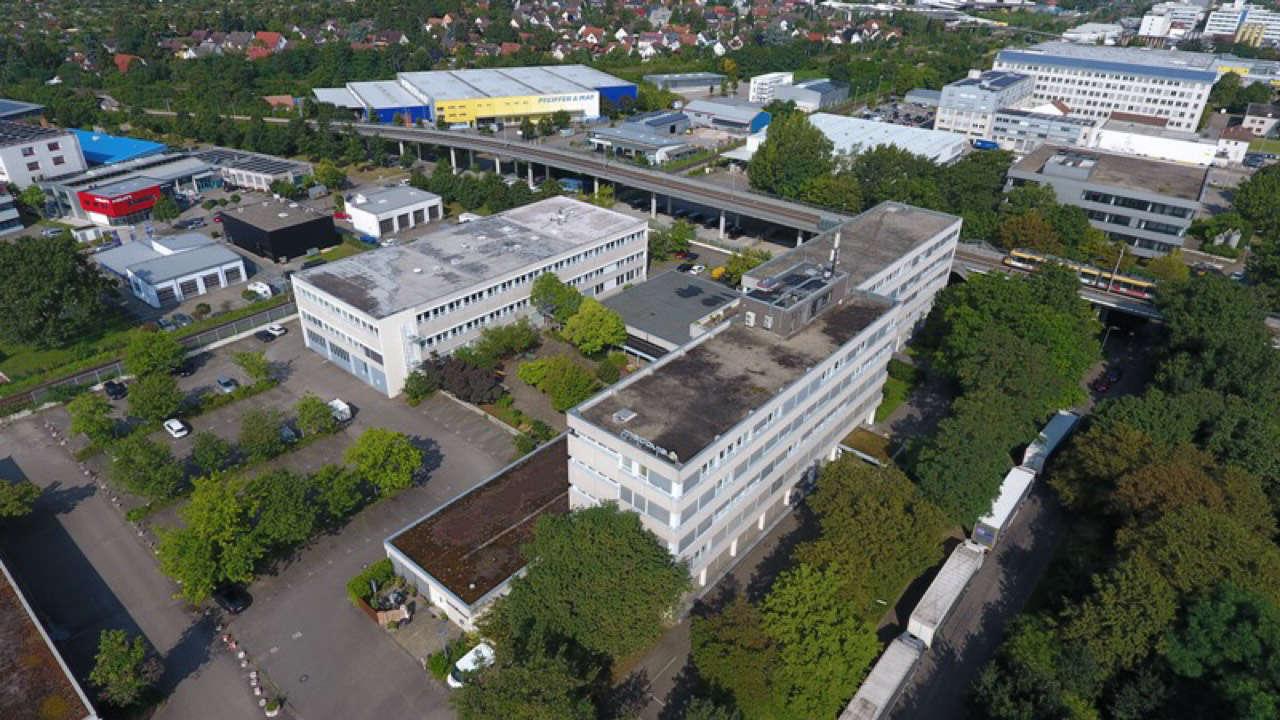 Verkauf Bürogebäude Bannwaldallee Karlsruhe