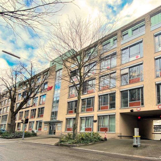 Vermietung Büroflächen Alleehaus Karlsruhe